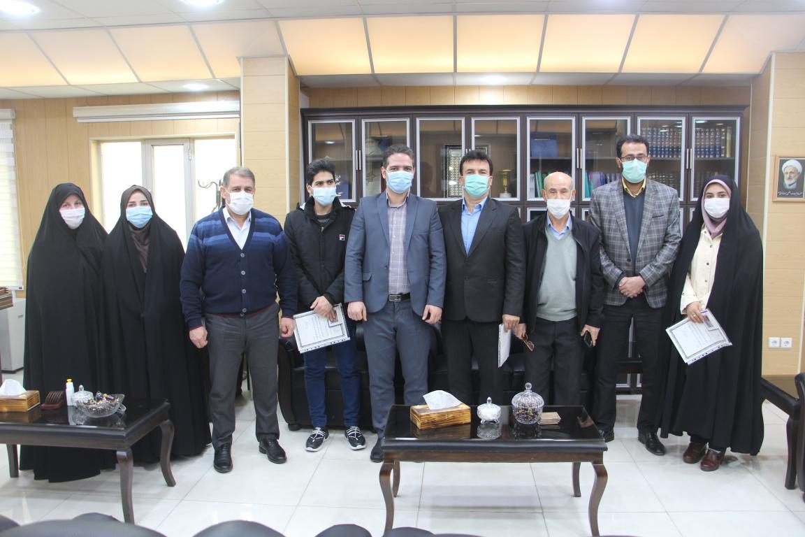 از فناوران برتر شهرستان رودبار تجلیل شد